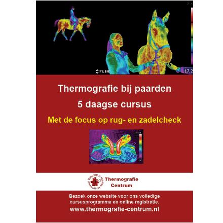 cursus thermografie voor zadelpassers en zadelmakers
