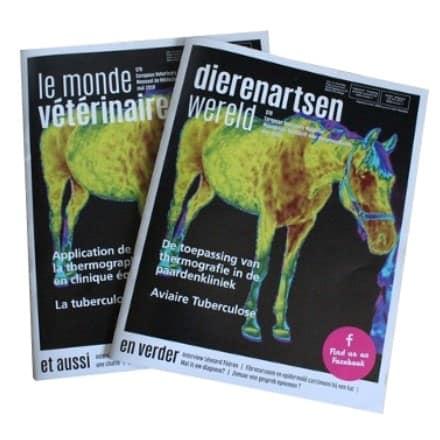 De toepassing van thermografie in de paardenkliniek